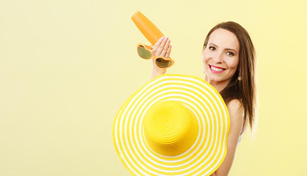 proteccion contra el sol verano bloqueador solar lentes playa