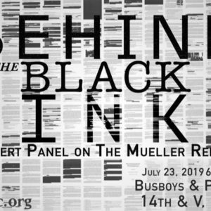 Behind the Black Ink: An Expert Panel on the Mueller Report
