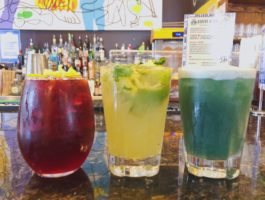 Busboys and Poets now offers Happy Hour every day from 4-7pm
