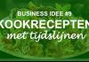 business-idee-kookrecepten-tijdslijnen