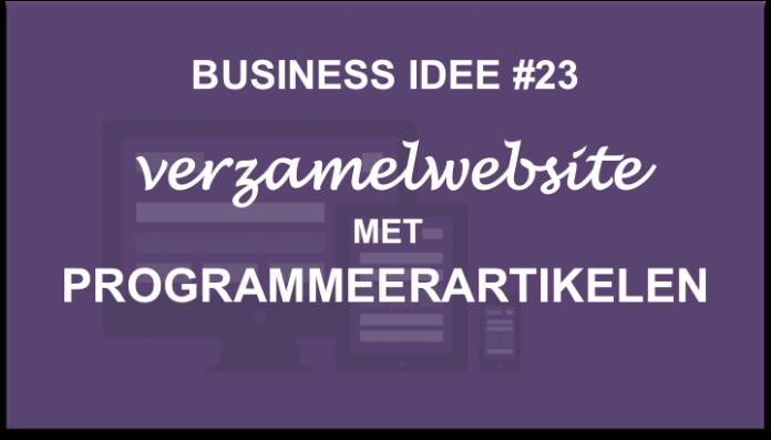 business-idee-verzamelwebsite-programmeerartikelen