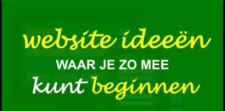 website-ideeen-zo-beginnen
