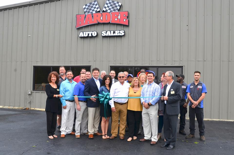 Hardee Auto Sales Ribbon Cutting Conway Chamber Of Commerce