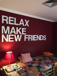 Relax. Make new friends.