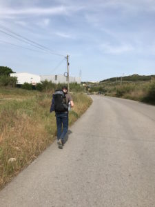 Michael from the Czech Republic on the Camino.