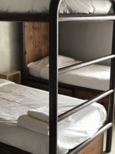 N1 Hostel had great bunks, with towels and bedding included. You also get a locked cabinet below for your valuables.