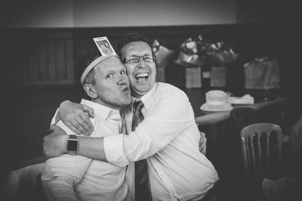 Wedding Photography_Westbury on Trym Village Hall_groom and best man