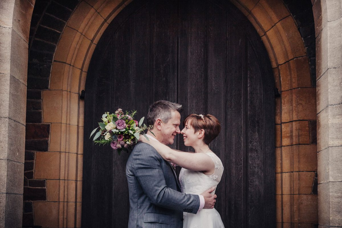 Wedding Photography_St Peters Church Henleaze Bristol_bride and groom
