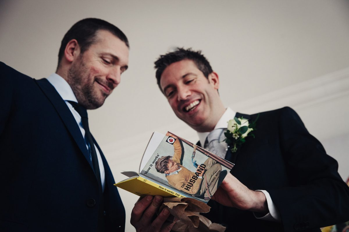 Wedding Photography_Clifton Bristol_groom and best man