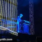 jean-Michel Jarre on stage