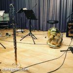 Bass flute and tuba