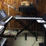 CatSynth Pic: Cat in the Studio, Arturia MatrixBrute, and More