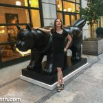 Wordless Wednesday: Me and a Big Cat in SoHo (New York)