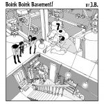 New Cartoon: Boink Boink Basement!