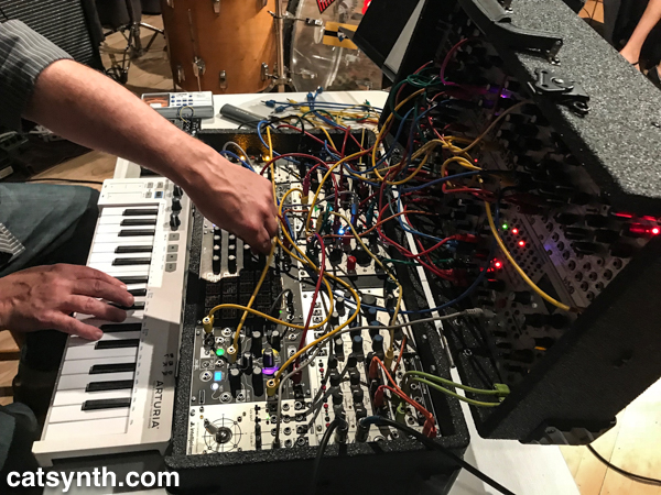 Tom Djll's synth