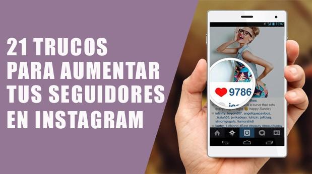 Aumentar seguidores en Instagram