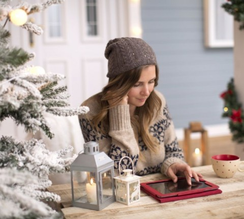 Redes sociales Navidad