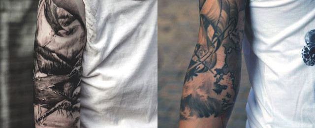 100 Best Badass Half Sleeve Tattoos For Men