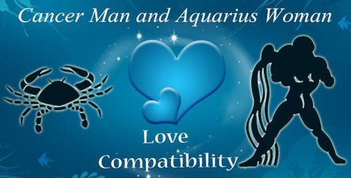 Cancer Man Aquarius Woman: Love, Sex & Attraction Compatibility