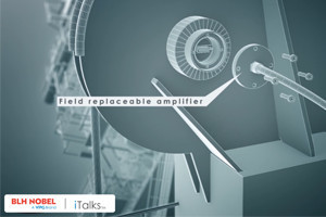field replaceable amplifier in load pin explosion rendering