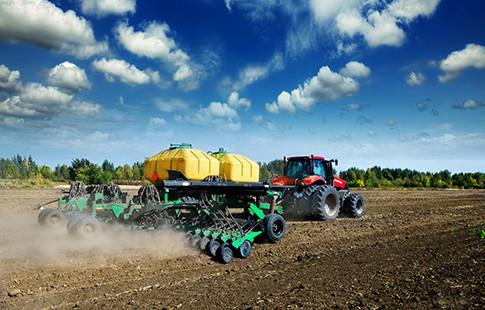 large soil preparation machine