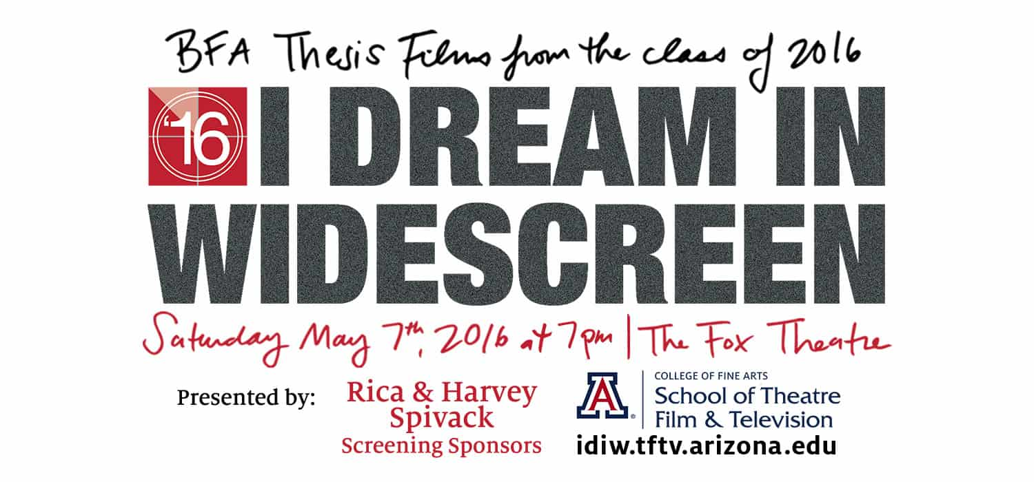 I Dream in Widescreen