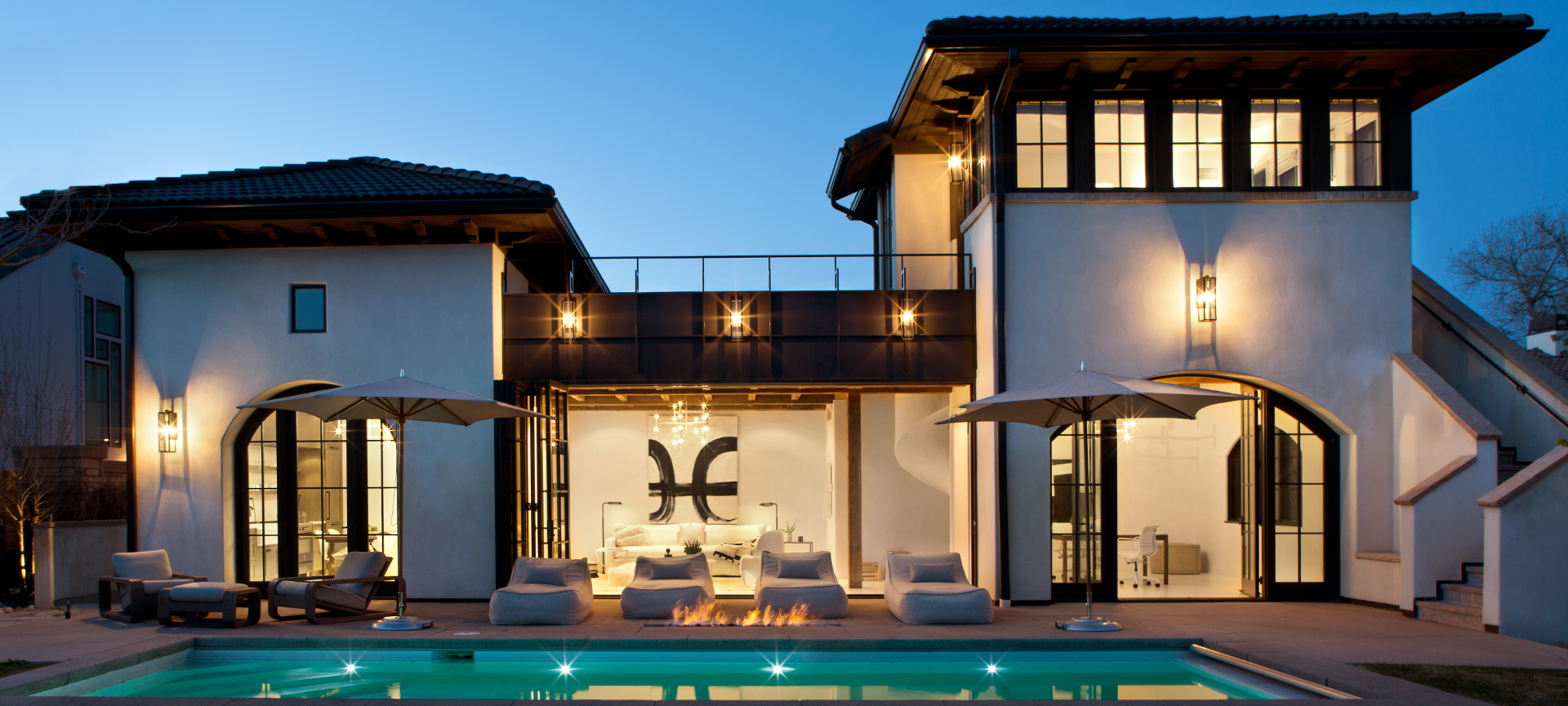 Luxury Denver Pool House