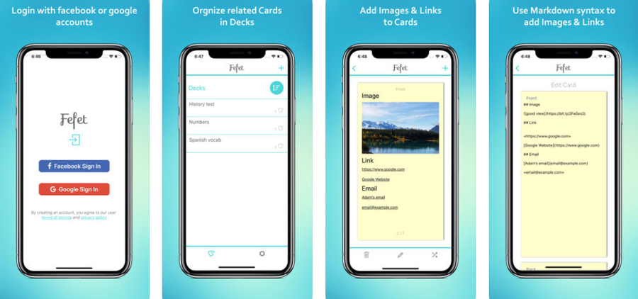 2018 06 08 12 24 36 fefet  flashcards maker on the app%c2%a0store