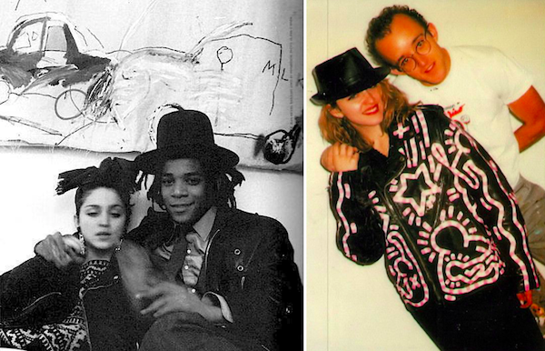 Madonna Keith Haring Jean-Michel Basquiat