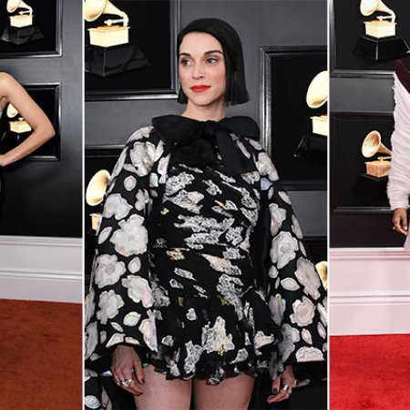 grammys red carpet open