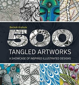500 Tangled Artworks: A Showcase of Inspired Illustrated Designs