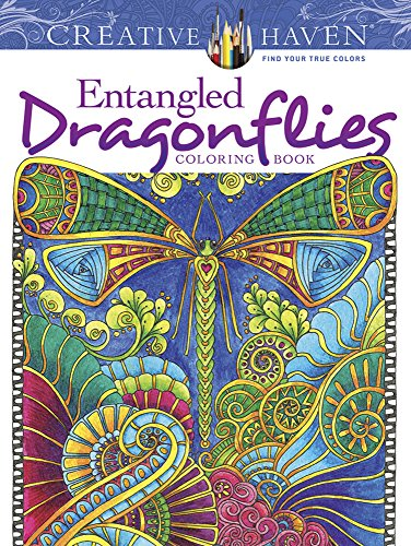 Creative Haven Entangled Dragonflies Coloring Book Adult