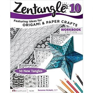 Zentangle 10, Workbook Edition (Design Originals)
