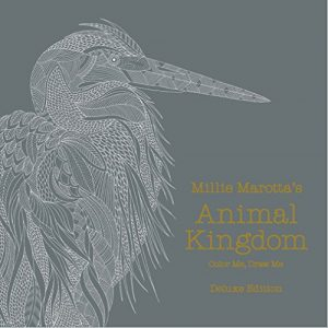 Millie Marotta's Animal Kingdom: Deluxe Edition: Color Me, Draw Me (A Millie Marotta Adult Coloring Book)