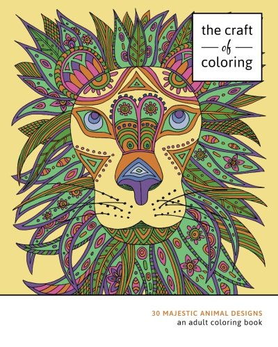 30 Majestic Animal Designs: An Adult Coloring Book (Relaxing And Stress Relieving Adult Coloring Books)