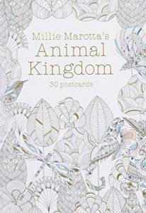 Millie Marotta's Animal Kingdom (Postcard Book): 30 postcards (A Millie Marotta Adult Coloring Book)