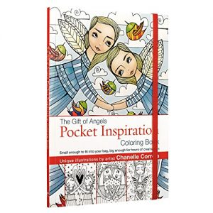 The Gift of Angels Pocket Inspiration Adult Coloring Book