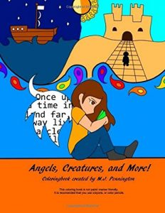 Angels, Creatures, and More! (Orange Angels Studios Coloringbooks) (Volume 1)