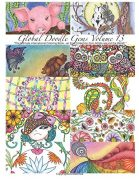 """""""Global Doodle Gems"""" Volume 13: """"The Ultimate Adult Coloring Book...an Epic Collection from Artists around the World! """""""