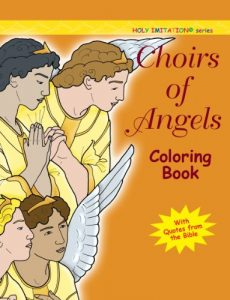 Choirs of Angels Coloring Book (Holy Imitation)