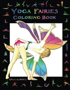 Yoga Fairies Coloring Book