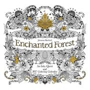 Enchanted Forest 2017 Wall Calendar: An Inky Quest and 2017 Coloring Calendar