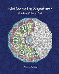 BioGeometry Signatures Mandalas Coloring Book