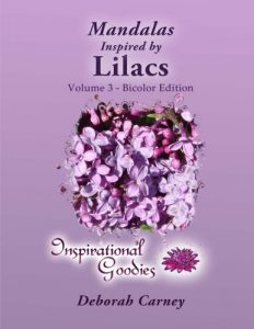 Mandalas Inspired by Lilacs - Volume 3 Bicolor: Adult Coloring Book - Inspired by Nature, Brought to life by you (Volume 4)