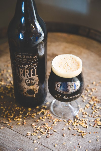 Anniversary with a bourbon barrel aged double chocolate imperial stout