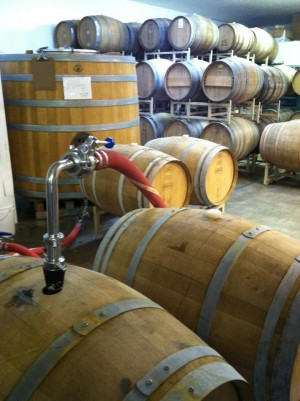 Crooked Stave Barrel Room