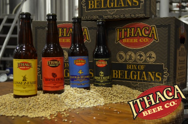 A collection of 4 Belgian-style and Belgian-inspired ales from Ithaca Beer.