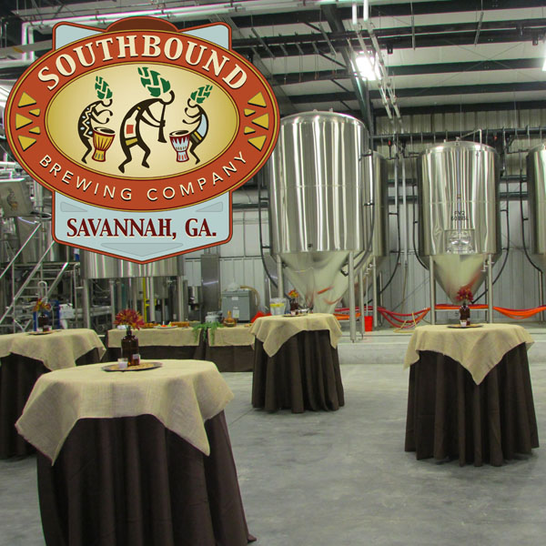 Southbound Brewing Co. Savannah's only production microbrewery to expand in South Carolina.