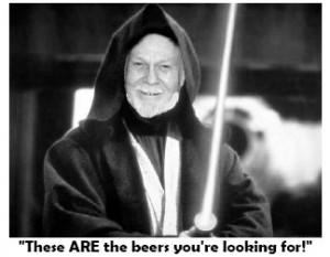 Fred as Obi Wan