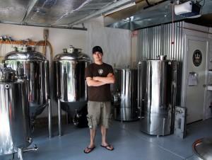 Beer Chef Ian Clark of BRU handbuilt ales
